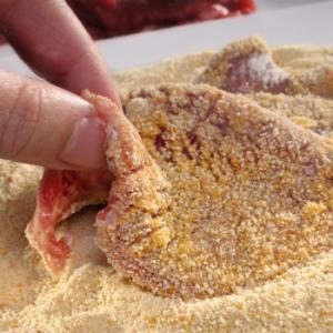 Crumbed Beef Schnitzel