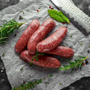 Lamb Rosemary and Mint Sausages